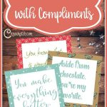 Lighttheworld With Compliments | #lighttheworld Service Ideas   Free Printable Compliment Cards