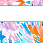 Lilly Pulitzer Binder Covers 2017 — Free, Cute, Printable Binder Covers!   Cute Free Printable Binder Covers