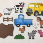 Little Blue Truck   Felt Board Story   Felt Stories   Speech Therapy   Little Blue Truck Free Printables