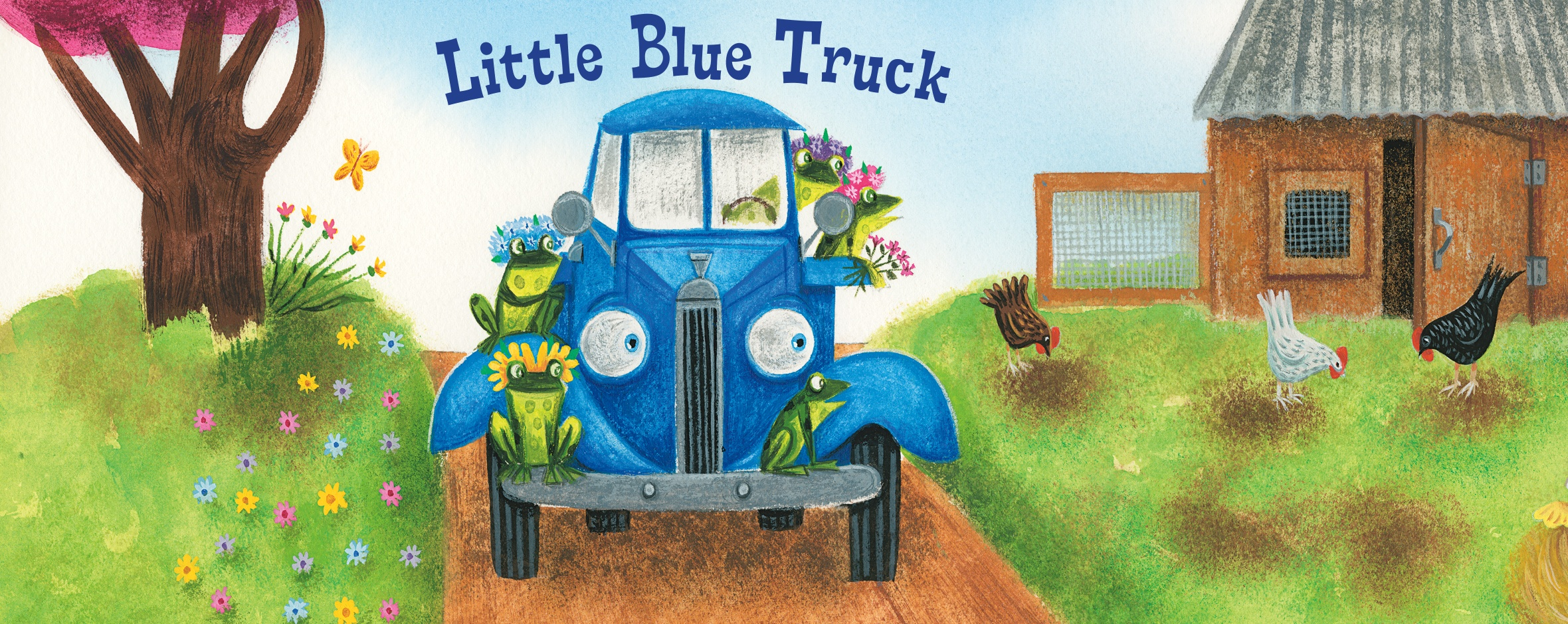 Little Blue Truck | Hmh Books - Little Blue Truck Free Printables
