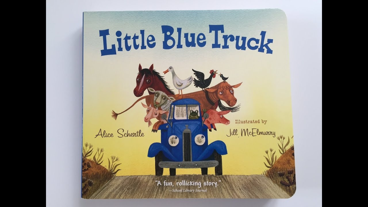 Little Blue Truckalice Schertle, Book Read Aloud - Youtube - Little Blue Truck Free Printables