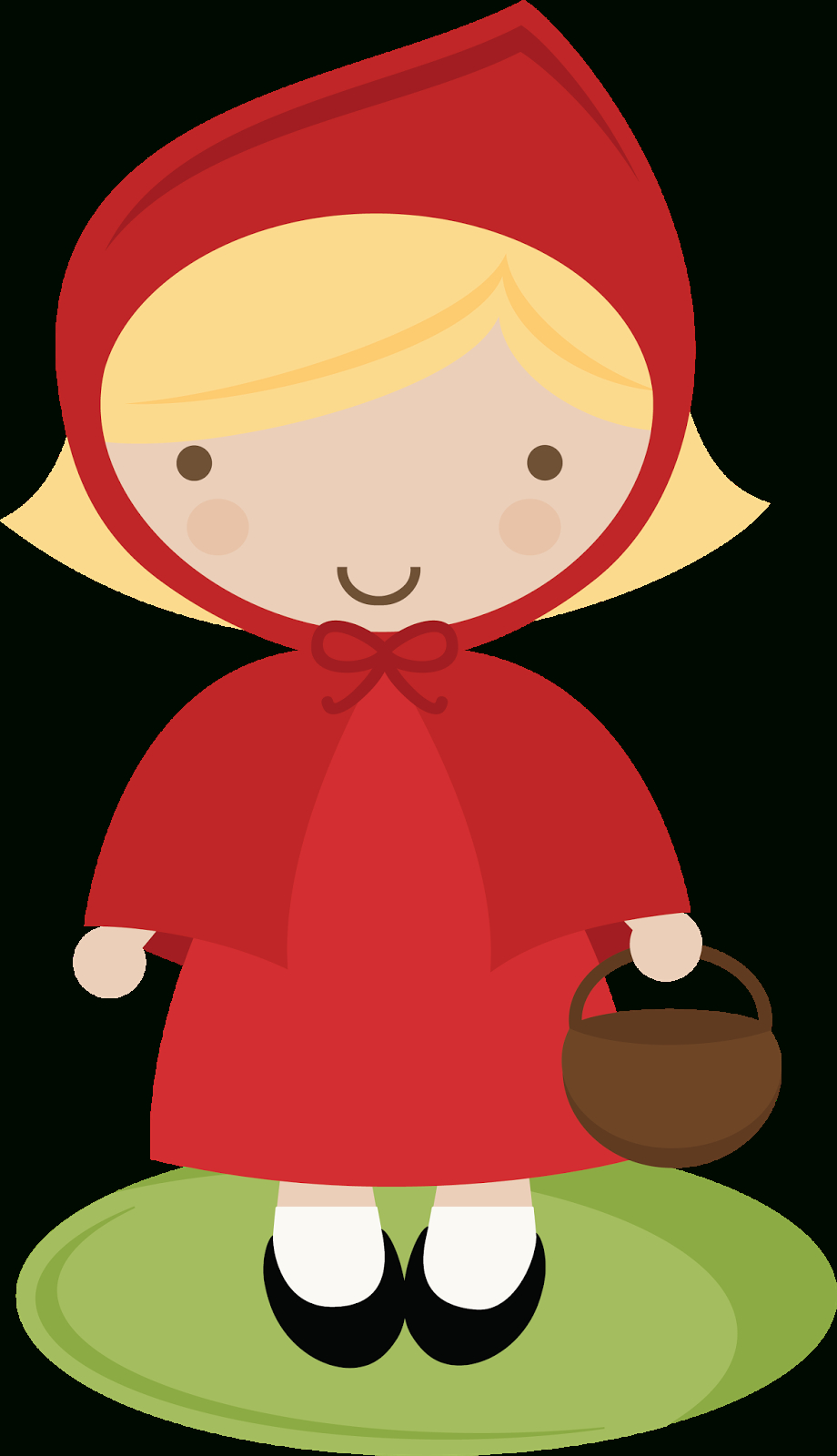 Little Red Riding Hood Template - Clipart Best | Blondie's Fairy - Little Red Riding Hood Masks Printable Free