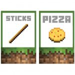 Lots Of Printables!! Minecraft Food Labels   Tanner's Superhero   Free Printable Minecraft Food Labels
