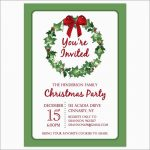 Lovely Christmas Party Invitation Templates Free Printable | Best Of   Christmas Party Invitation Templates Free Printable