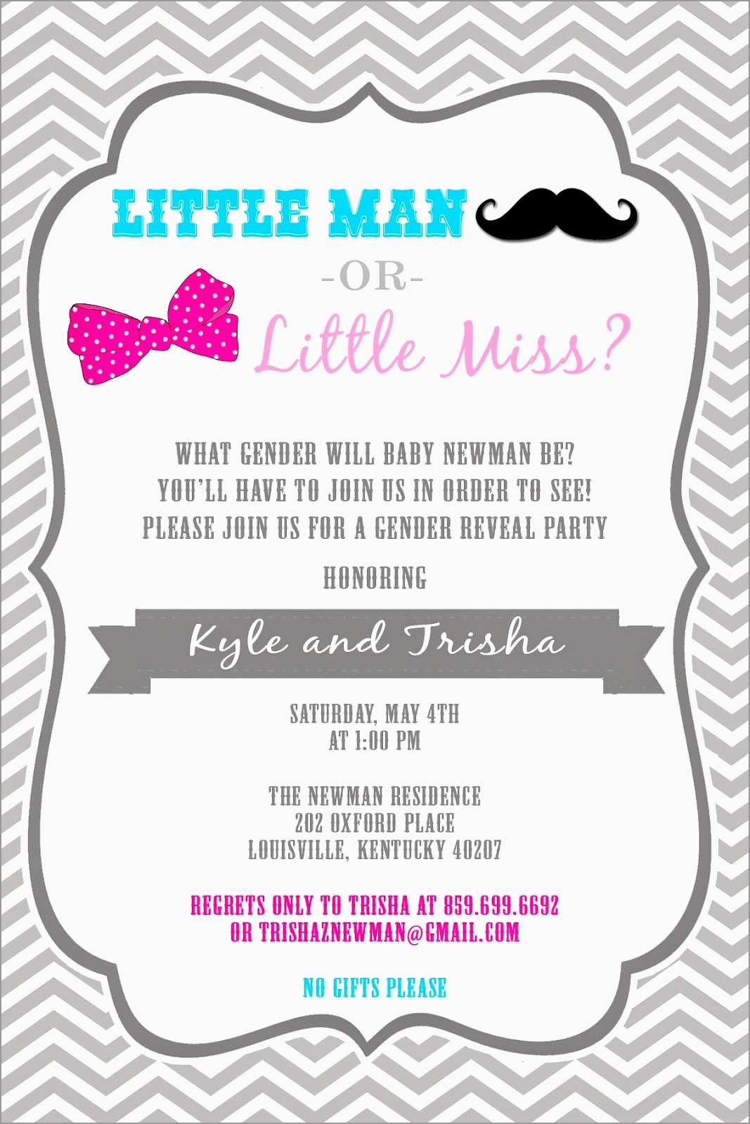 Luxury Free Printable Gender Reveal Invitation Templates | Best Of - Free Printable Gender Reveal Templates