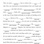 Mad Libs On Pinterest | Mad Libs For Adults, Free Mad Libs And   Free Printable Mad Libs For Middle School Students