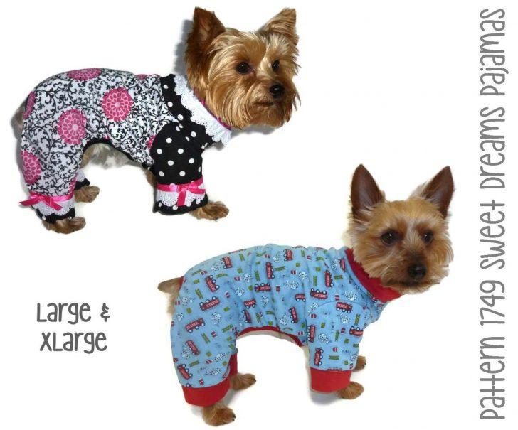 Free Printable Dog Pajama Pattern