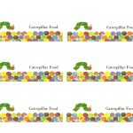 Make It Cozee: Very Hungry Caterpillar Party Favor Printables   The Very Hungry Caterpillar Free Printables