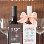 Make Your Own Custom Wine Labels For Free | Wedding Stuff | Wine   Free Printable Wine Labels With Photo