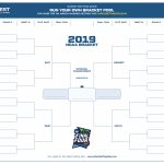 March Madness 2019 Bracket Template (Free Printable Pdf)   Free Printable March Madness Bracket