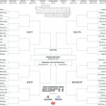 March Madness 2019: Get Your Printable Ncaa Bracket From Espn   Free Printable March Madness Bracket