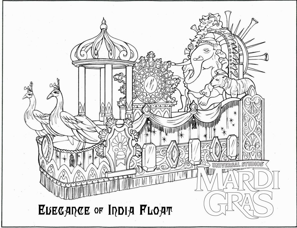 Mardi Gras Coloring Sheets Printable – Coloring Pages - Mardi Gras Coloring Pages Free Printable