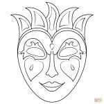 Mardi Gras Mask Coloring Page | Free Printable Coloring Pages   Free Printable Mardi Gras Masks