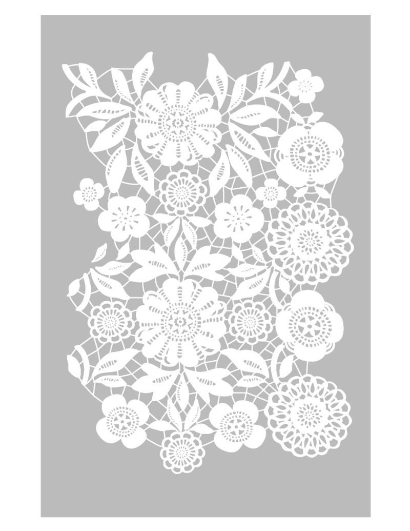 Marrakech: And Another Flock Of Peacock Painters Spotted On The - Free Printable Lace Stencil