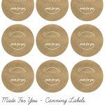 Mason Jar Lid Labels   Google Search | Diy Labels | Canning Jar   Free Printable Mason Jar Labels