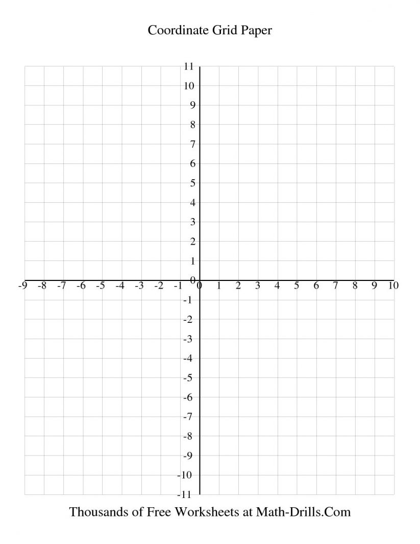 Math : 1 Cm Coordinate Grid Every Line Labeled Graph Paper - Free Printable Coordinate Graphing Worksheets