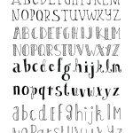 May 14 ***free*** Bullet Journal Printables. | Tekenen   Bullet   Free Printable Fonts No Download