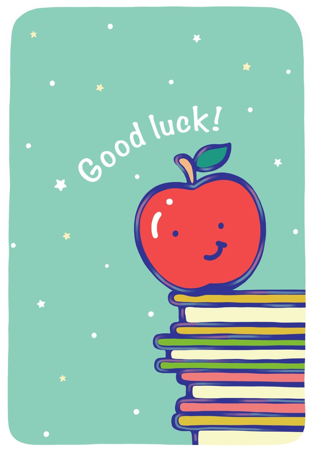 May Hard Work Pay Off Greeting Cardlittlestar Cindy :) | Cute - Free Printable Good Luck Cards