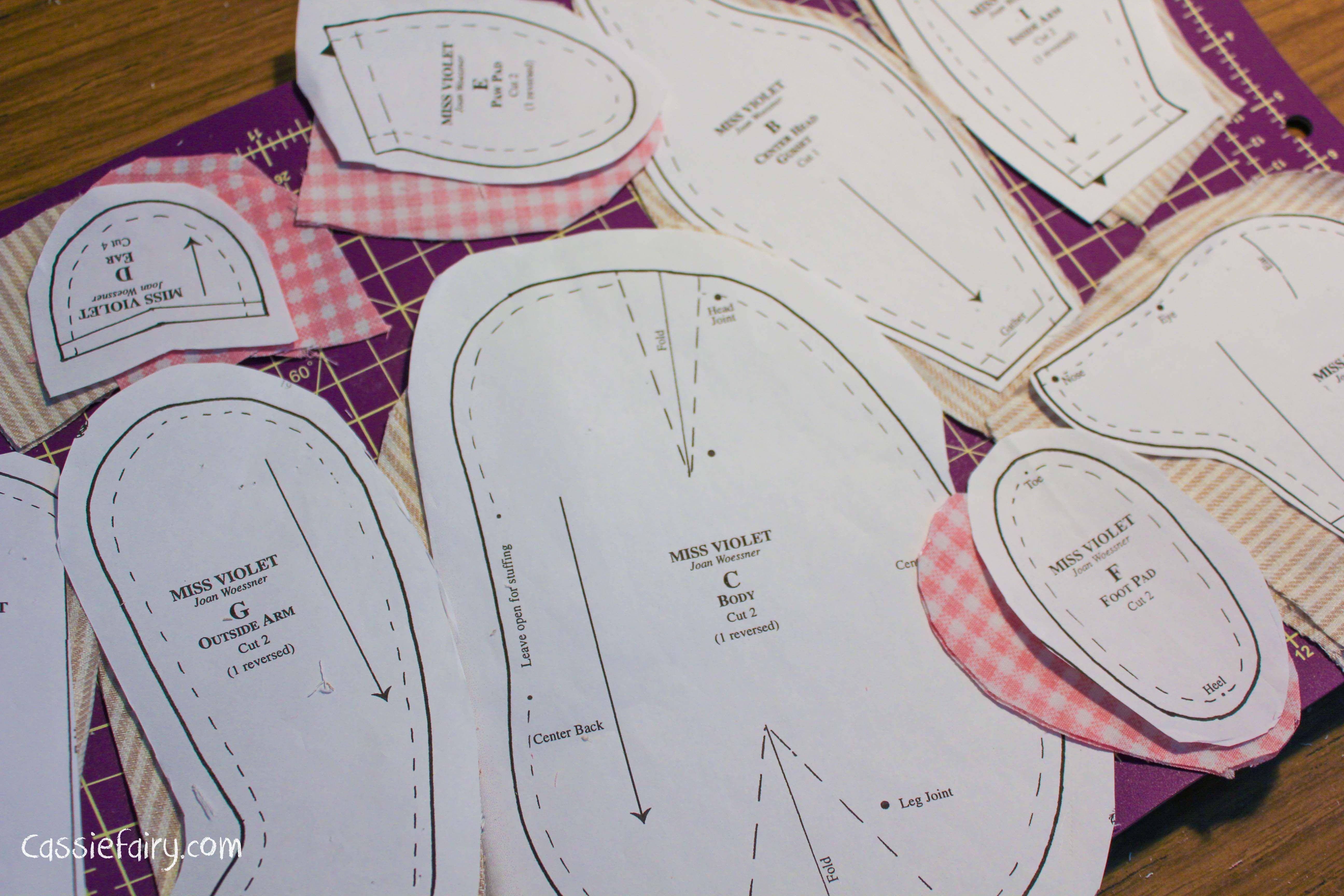Memory Bear Pattern Free | Memory Bears | Teddy Bear Sewing Pattern - Free Printable Onesie Pattern