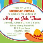 Mexican Fiesta Invitation Printable Or Printed With Free | Etsy   Free Printable Fiesta Invitations