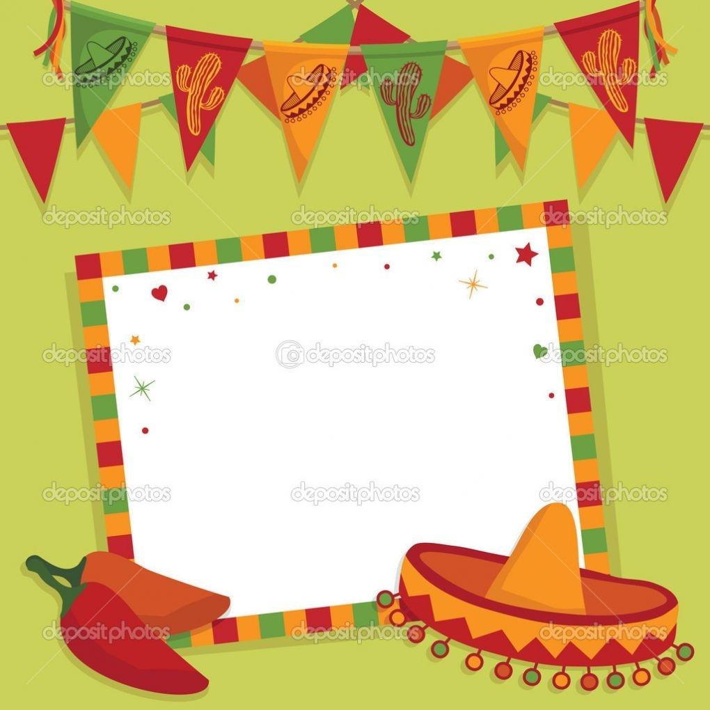 "Mexican Fiesta Invitation Templates Free | ""fiesta Invites - Free Printable Mexican Fiesta Invitation Templates"