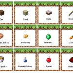 Minecraft Birthday Party Food Labels. Free Printable! Now With   Free Printable Minecraft Food Labels