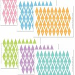 Mini Bunting Free Printables | Party Ideas | Cake Bunting, Birthday   Free Printable Cake Banner Templates