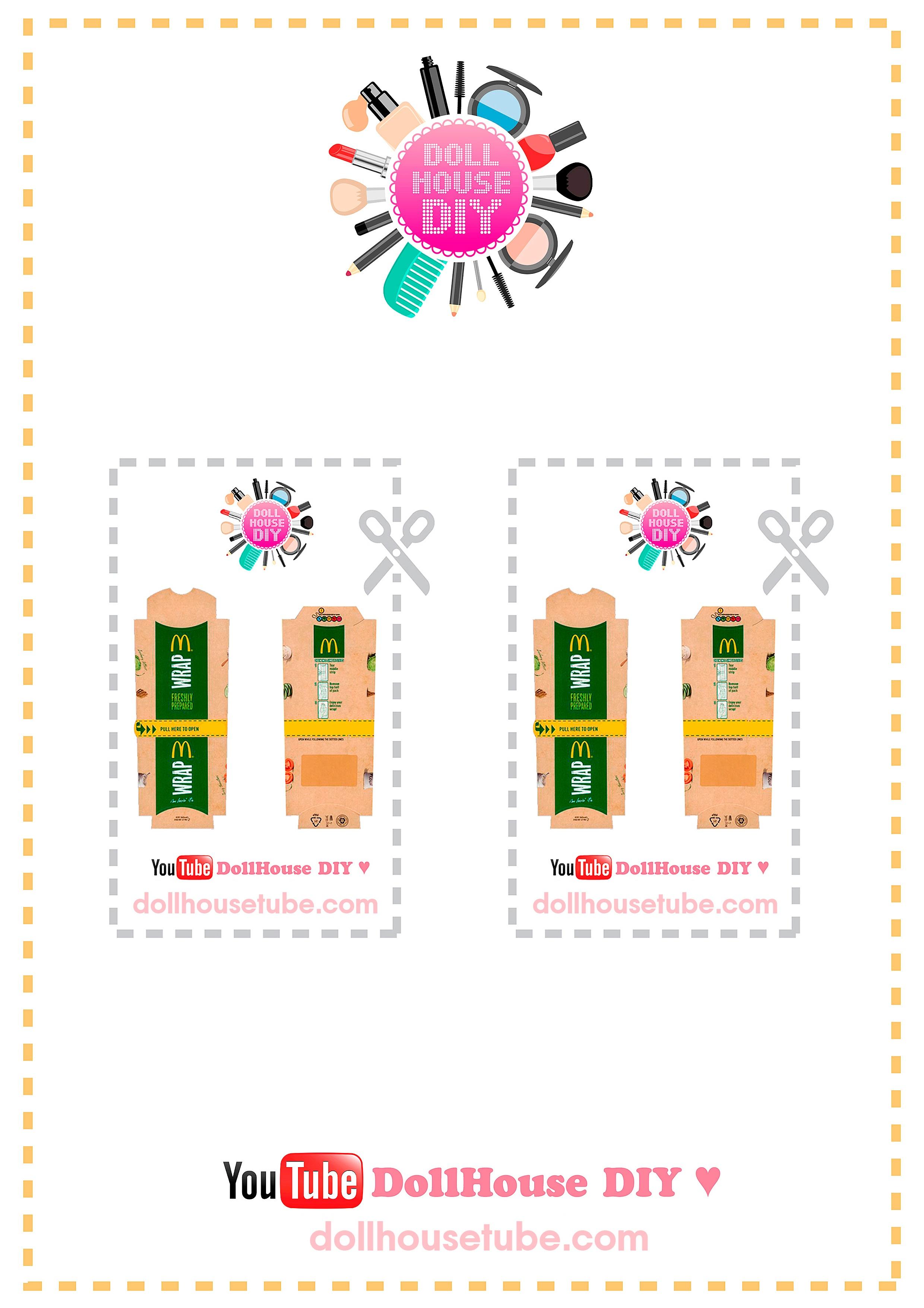 Miniature Printables – Dollhouse Diy ♥ - Free Miniature Printables