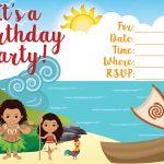 Moana Invitation   Free Printable Moana Birthday Invitations   Viva   Free Printable Moana Birthday Invitations