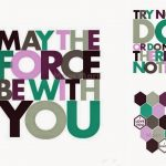 Mom Mart: Star Wars Wall Art Free Printables #freeprintable   May The Force Be With You Free Printable