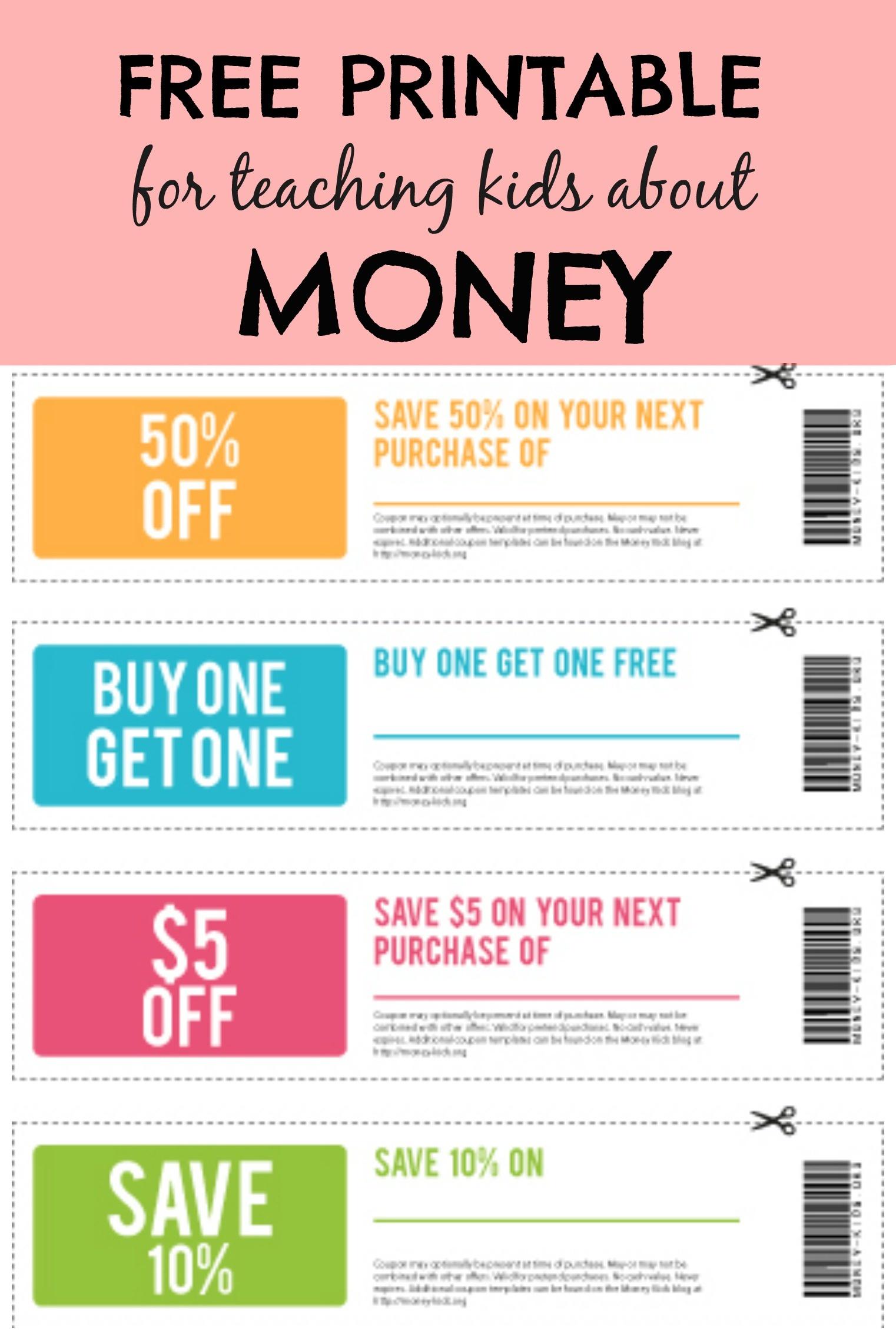 Money Kids: Free Printable & Budgeting Activity - United Moms Network - Free Printable Money For Kids