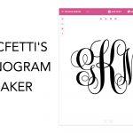 Monogram Maker   Make Your Own Monograms Using Our Free Online Maker   Free Printable Monogram Initials