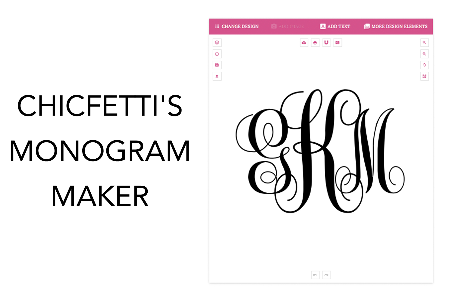 Monogram Maker - Make Your Own Monograms Using Our Free Online Maker - Free Printable Monogram Initials
