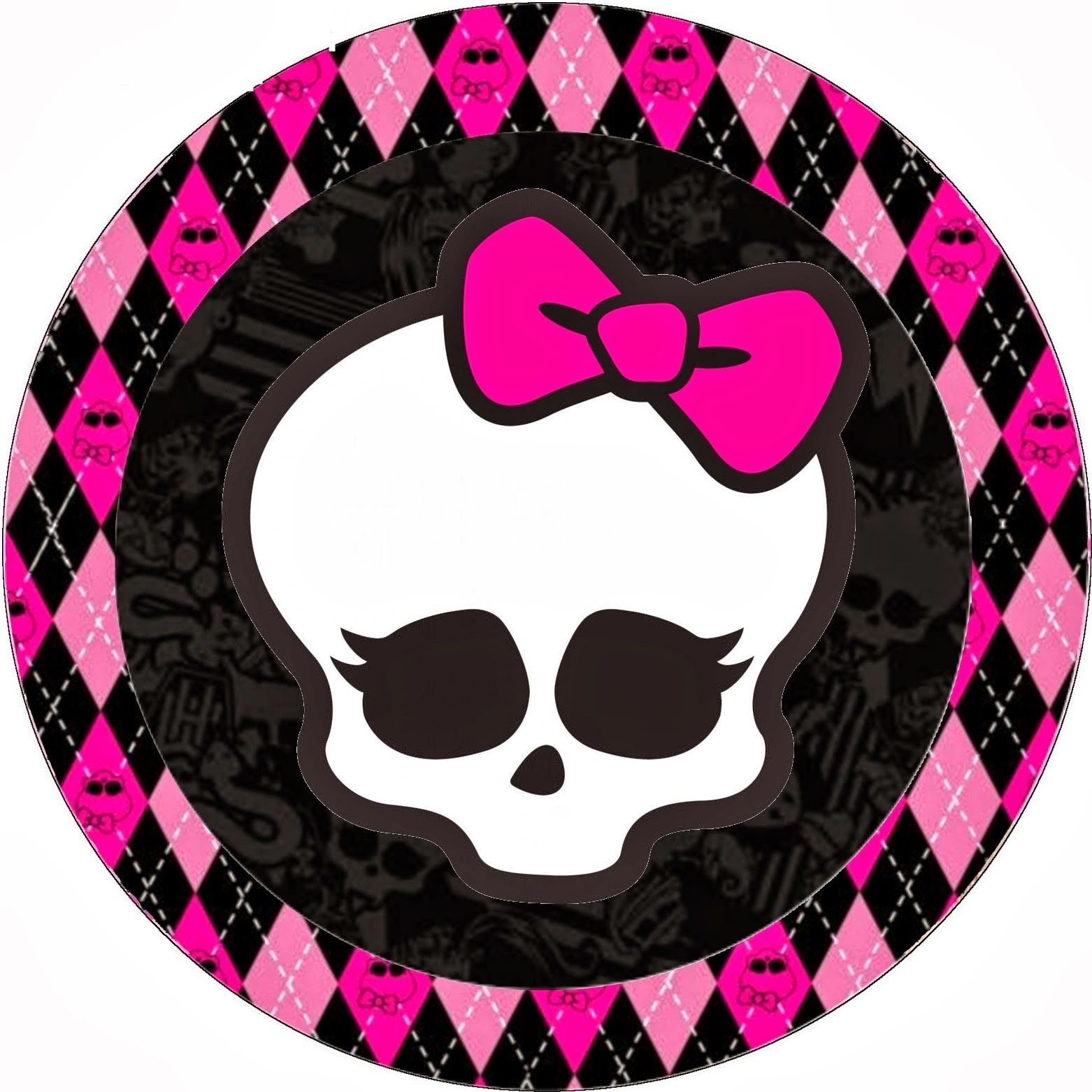 Monster High Birthday Clip Art | Monster High Halloween Special Free - Free Printable Monster High Stickers