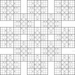 Monster Sudoku 16X16 Printable | Www.topsimages | Printable Monster   Free Printable Super Challenger Sudoku