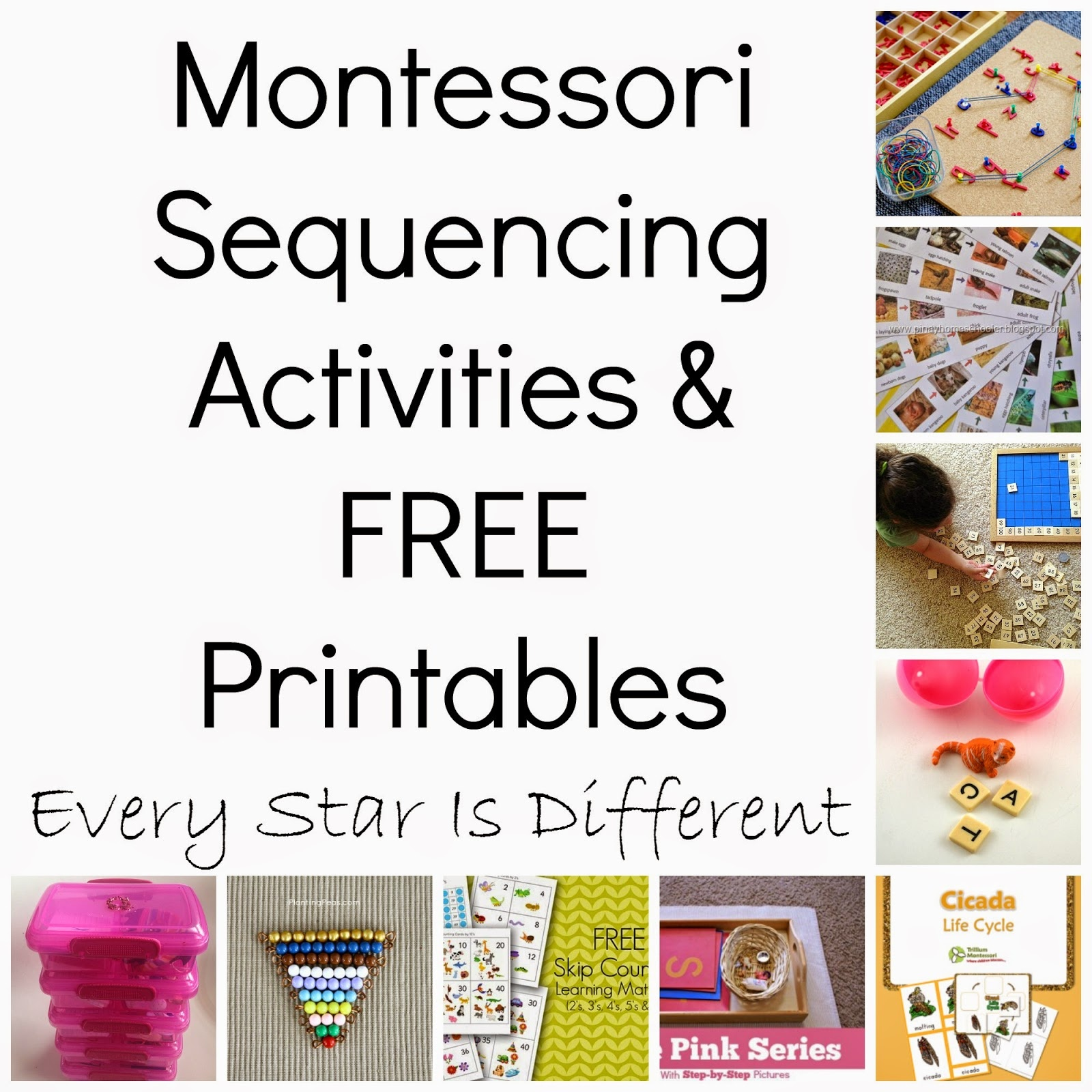 Montessori-Inspired Sequencing Activities & Free Printables (Klp - Free Montessori Printables