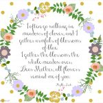 Mother's Day Poem And Free Printables | Make N Take | Mothers Day   Free Printable Mothers Day Poems