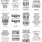 Motivational Quotes To Inspire And Encourage | Skip To My Lou   Free Printable Quote Stencils
