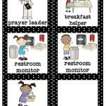 Mrs. Lirette's Learning Detectives: Classroom Helpers Set {Free}   Classroom Helper Chart Free Printables