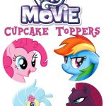 Musings Of An Average Mom: My Little Pony Movie   Cupcake Toppers   My Little Pony Free Printables