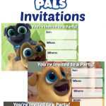 Musings Of An Average Mom: Puppy Dog Pals Invitations   Free Printable Puppy Dog Birthday Invitations