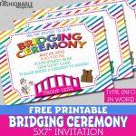 My Fashionable Designs: Free Printable Bridging Invitations   Free Bridging Certificate Printable