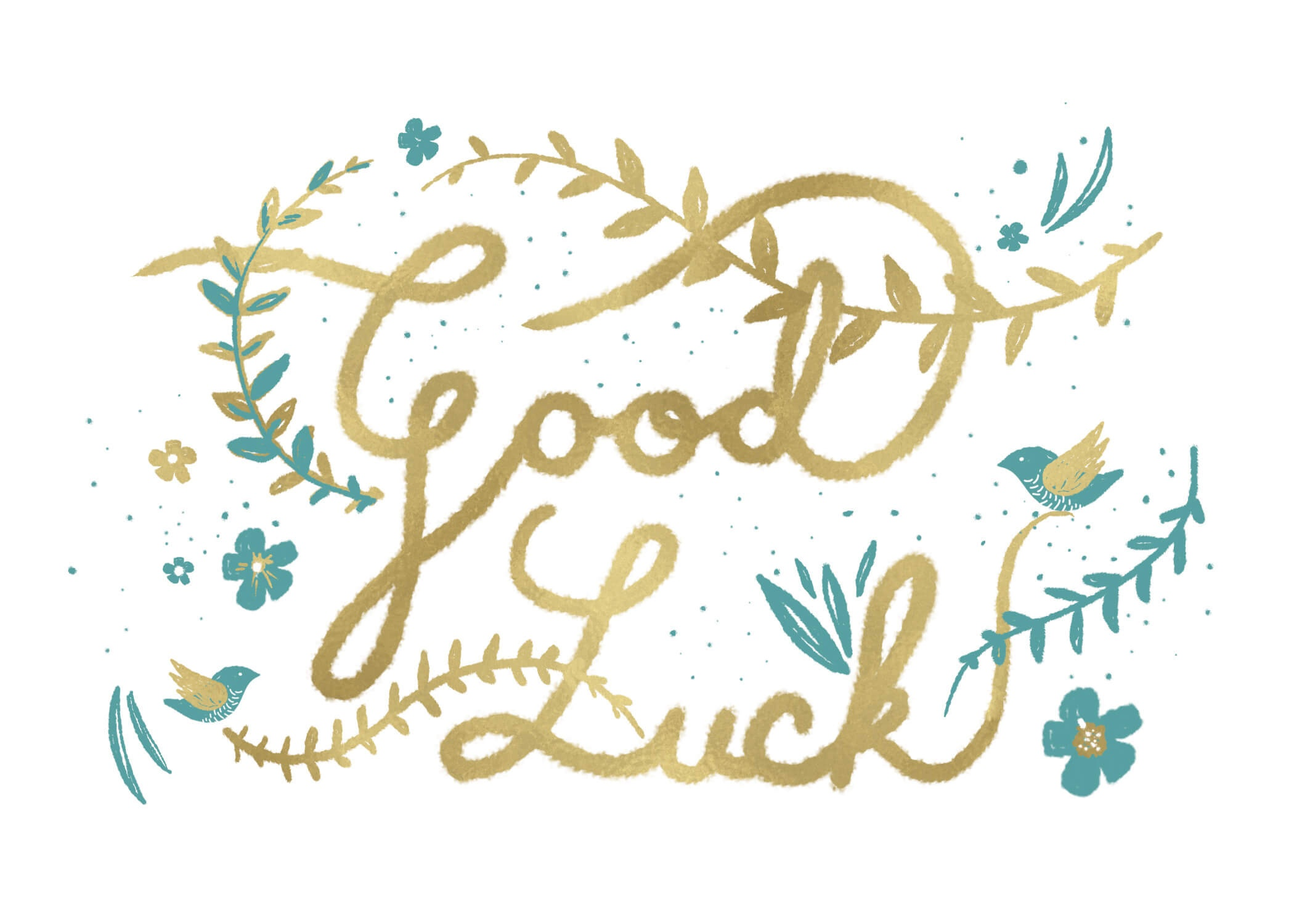 Natural Luck - Good Luck Card (Free) | Greetings Island - Free Printable Good Luck Cards