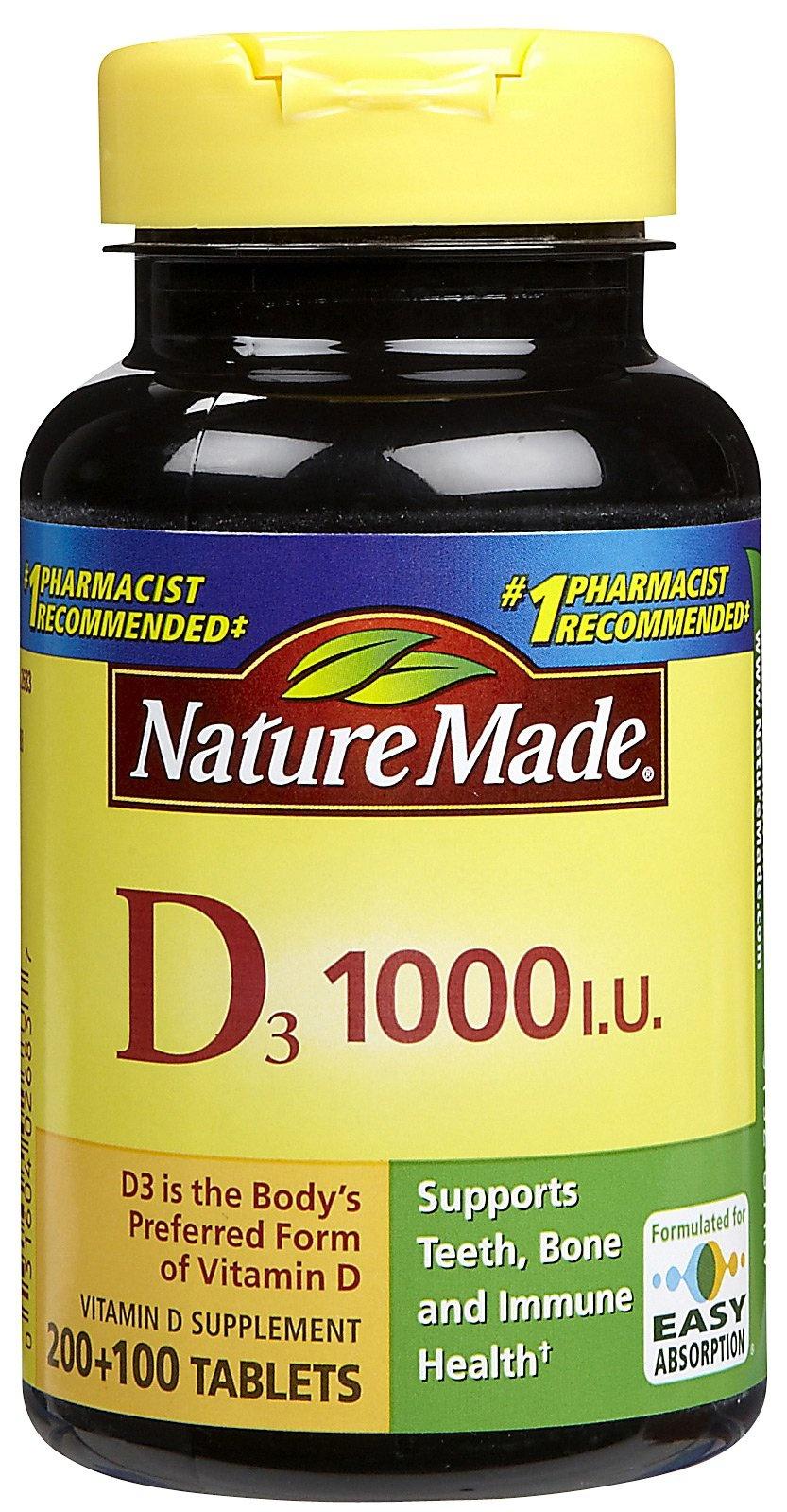 Nature Made Vitamin D Only $1.49 At Walgreens · - Free Printable Nature Made Vitamin Coupons