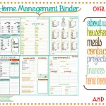 New Bee Homeschooler   Home Management Binder   Free Home Organization Binder Printables