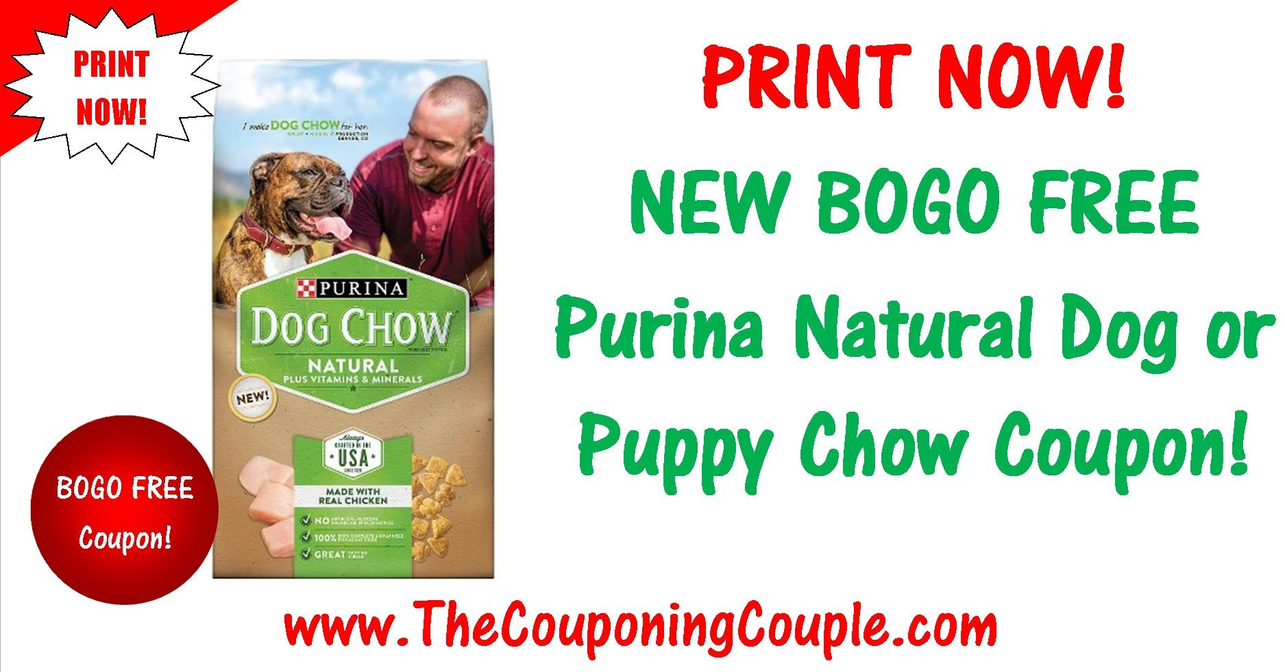 New Bogo Free Purina Natural Printable Coupon ~ Print Now! - Free Printable Nature Made Vitamin Coupons