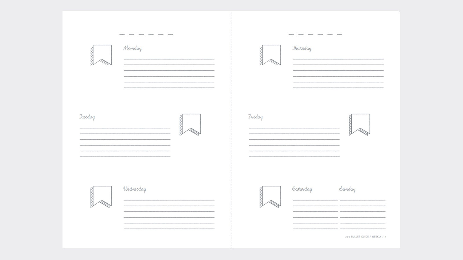 New Books From Pan Macmillan - Free Bullet Journal Printables 2018