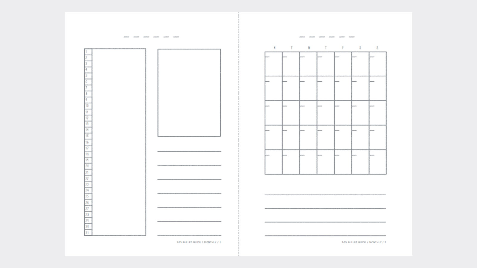 New Books From Pan Macmillan - Free Bullet Journal Printables 2019