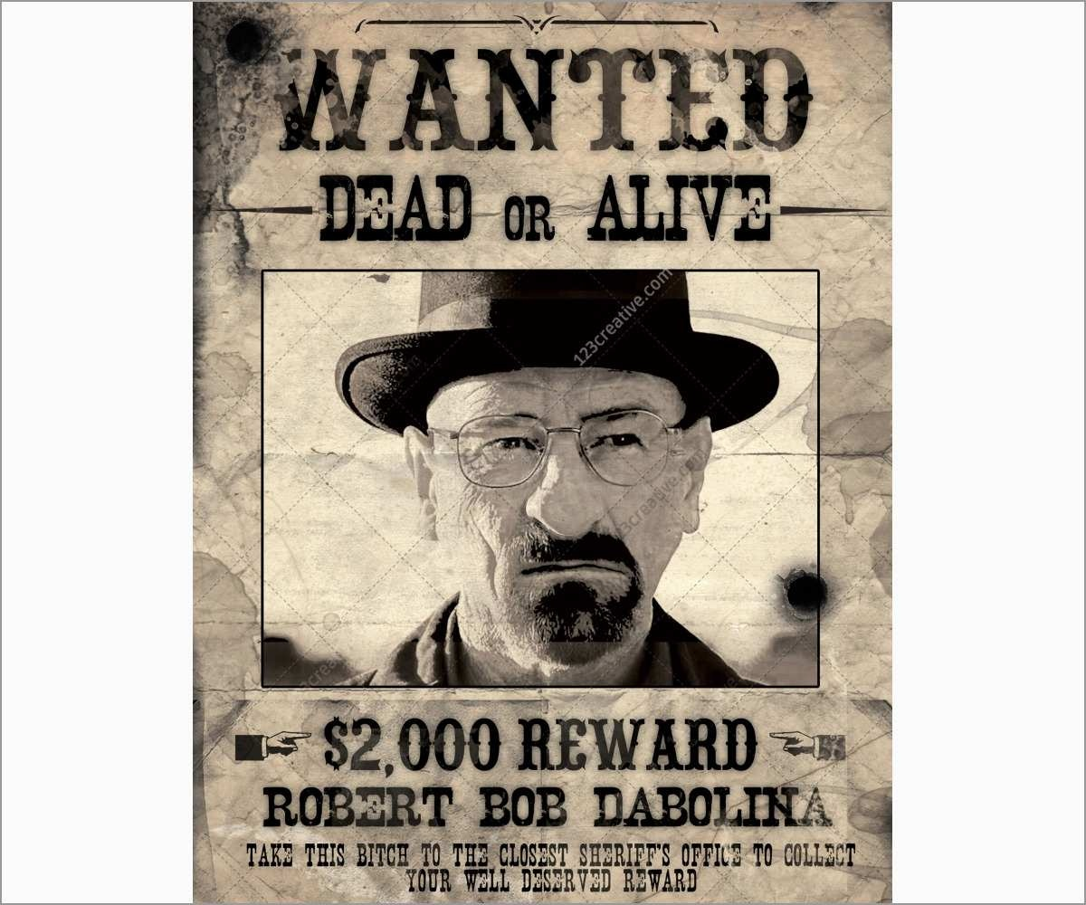 New Free Wanted Poster Template | Best Of Template - Wanted Poster Printable Free