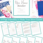 New Home Binder + Free Printables! | Sweet Tea Ministry   Free Printables For Home